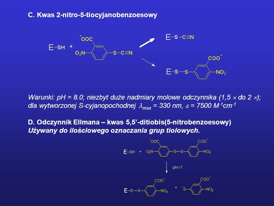 C. Kwas 2-nitro-5-tiocyjanobenzoesowy