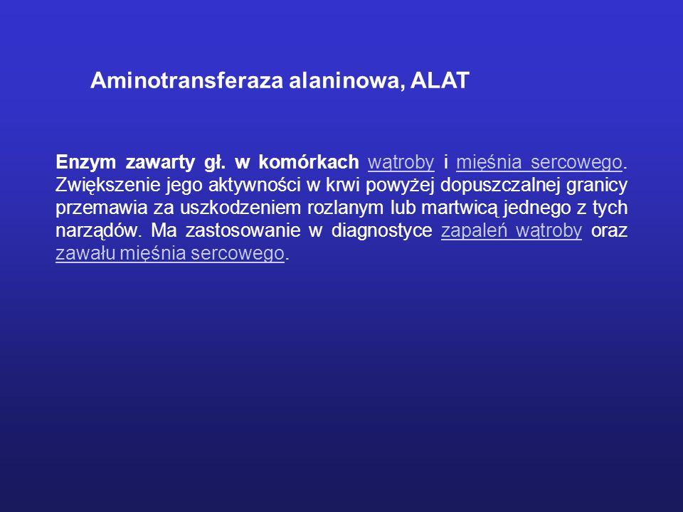 Aminotransferaza alaninowa, ALAT
