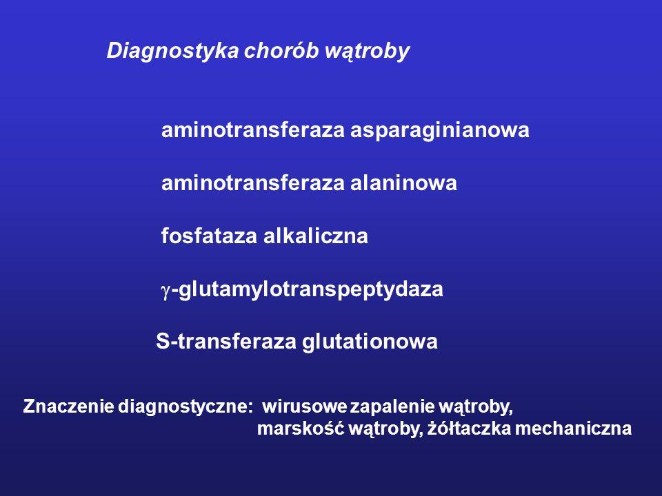Diagnostyka chorób wątroby aminotransferaza asparaginianowa