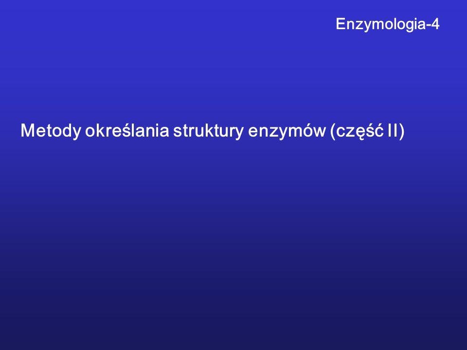Metody określania struktury enzymów (część II)
