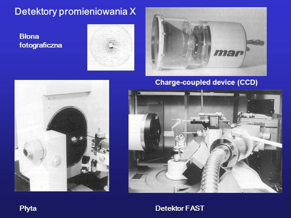 Detektory promieniowania X