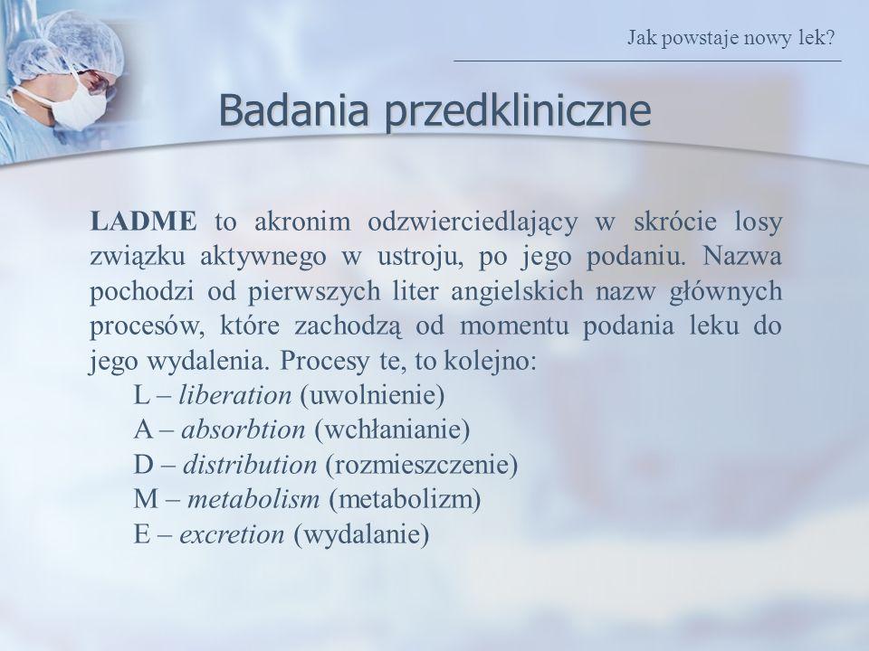 Badania przedkliniczne