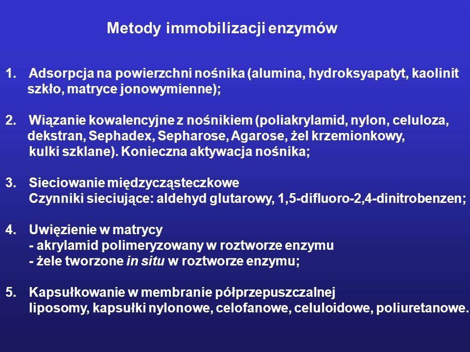 Metody immobilizacji enzymów