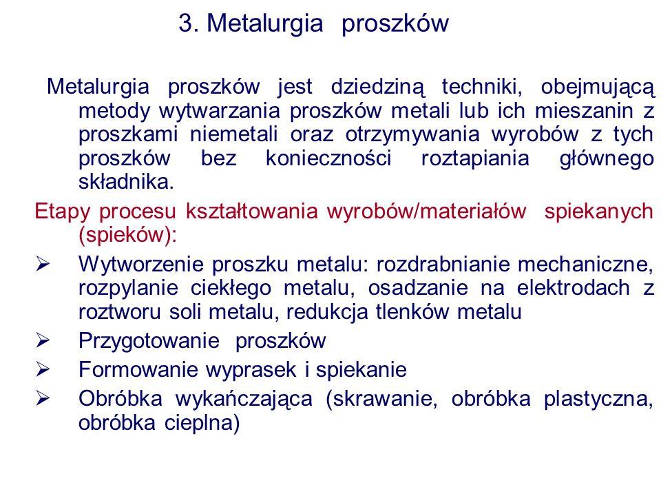 3. Metalurgia proszków