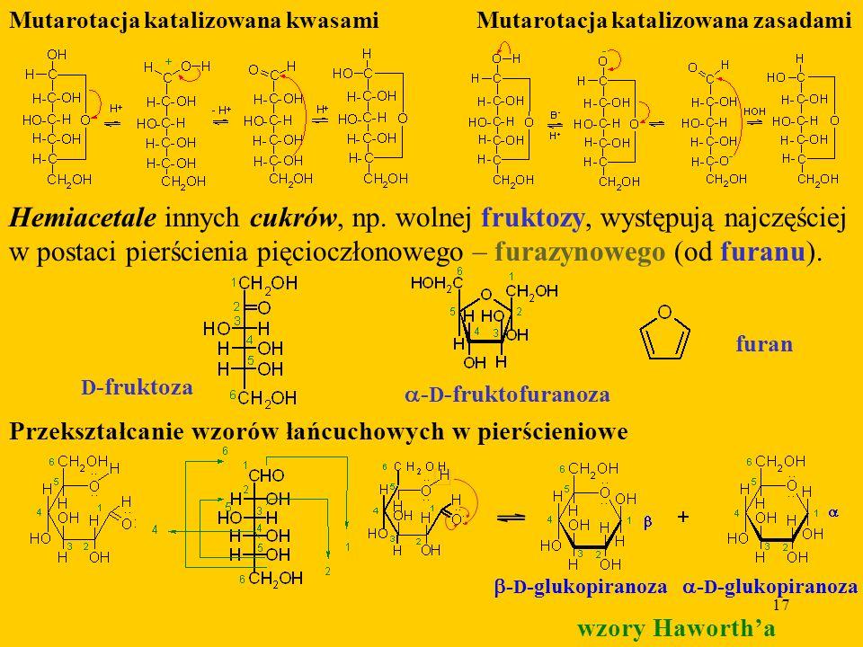 Mutarotacja katalizowana kwasami