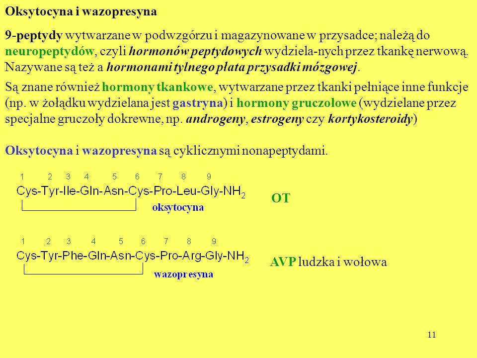 Oksytocyna i wazopresyna