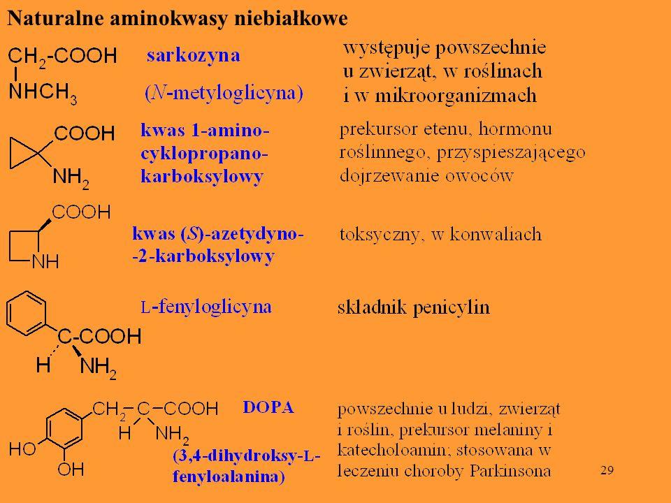 Naturalne aminokwasy niebiałkowe