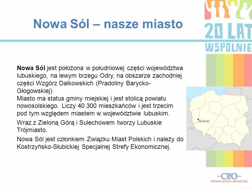 Nowa Sól – nasze miasto
