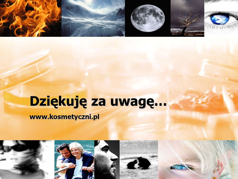 Dziękuję za uwagę… www.kosmetyczni.pl
