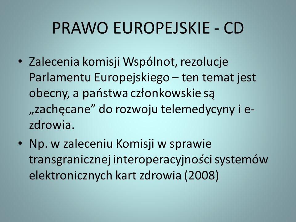 PRAWO EUROPEJSKIE - CD