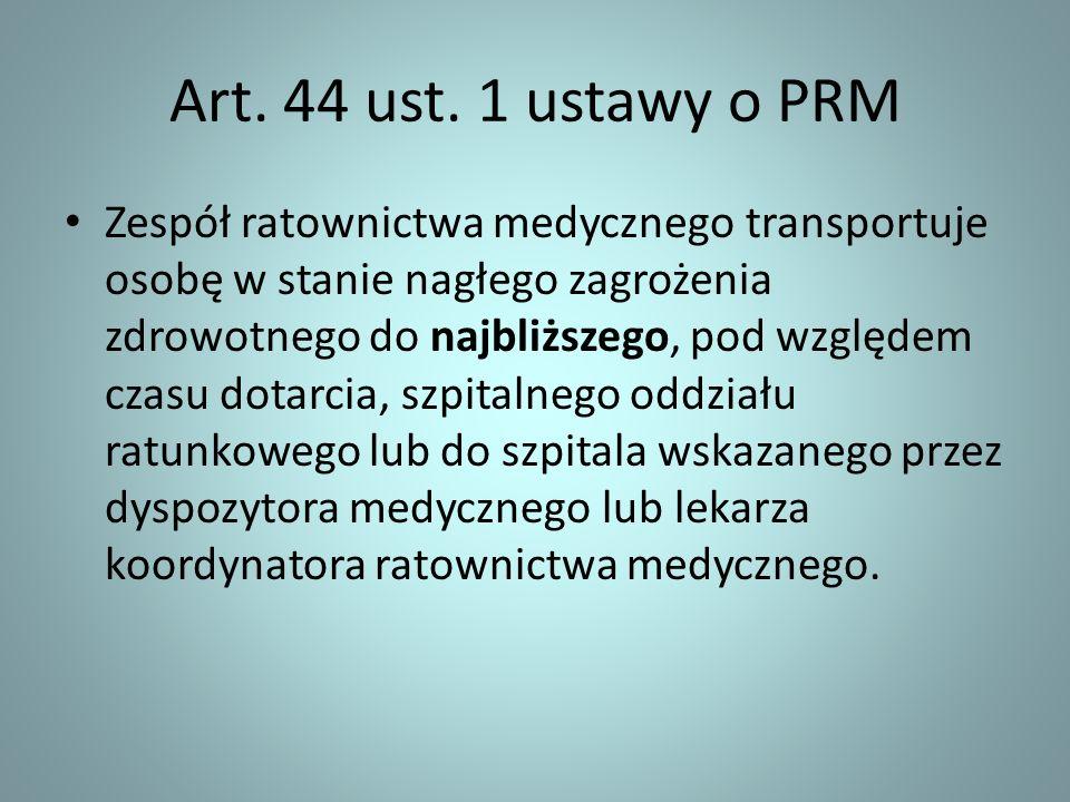 Art. 44 ust. 1 ustawy o PRM