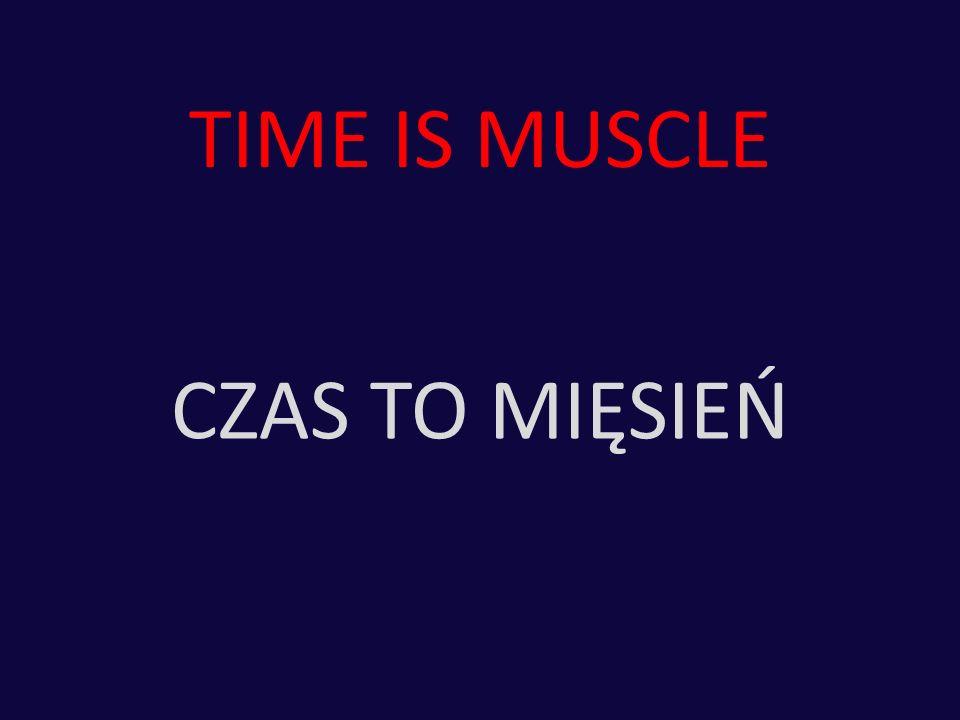 TIME IS MUSCLE CZAS TO MIĘSIEŃ