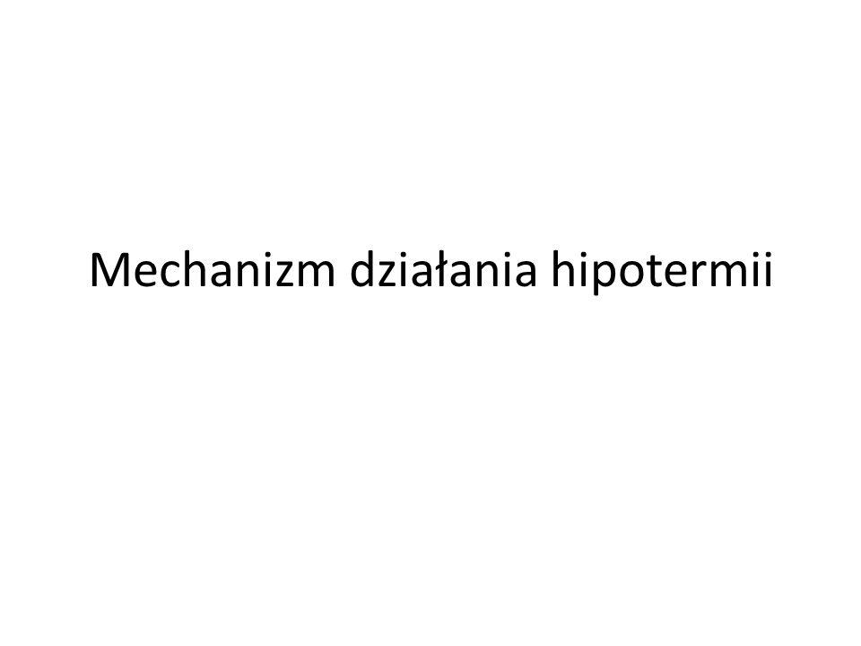 Mechanizm działania hipotermii