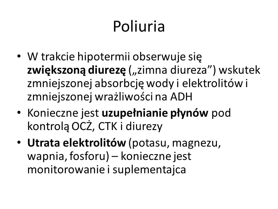Poliuria