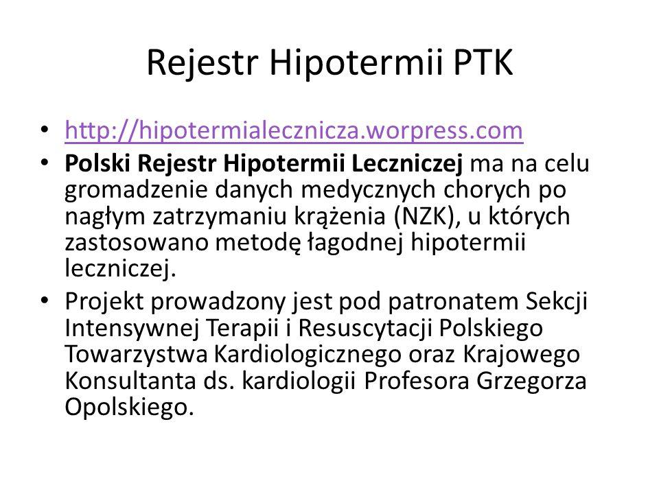 Rejestr Hipotermii PTK
