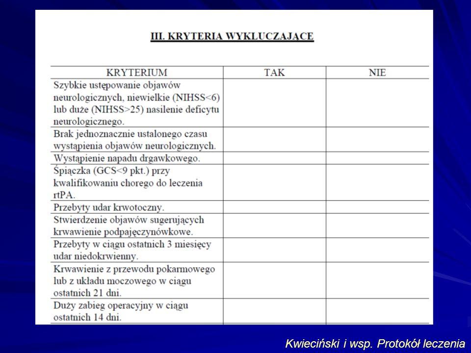Kwieciński i wsp. Protokół leczenia
