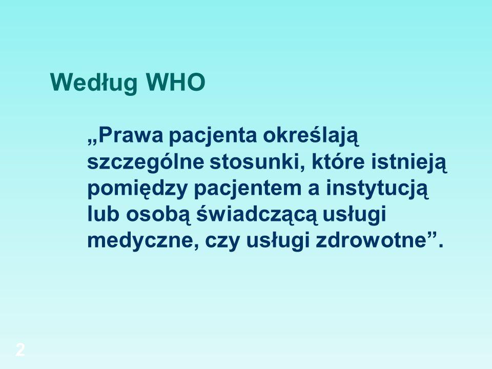 Według WHO