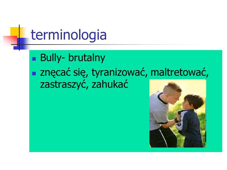 terminologia Bully- brutalny