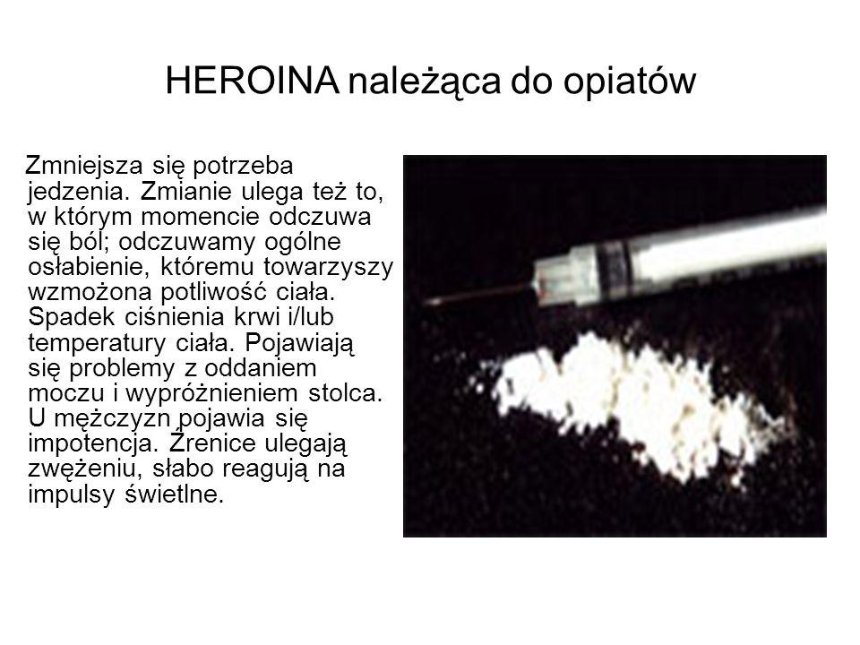 HEROINA należąca do opiatów