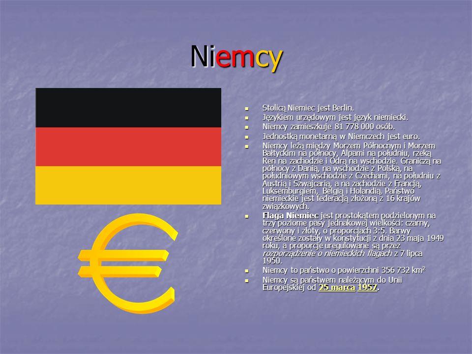 Niemcy Stolicą Niemiec jest Berlin.