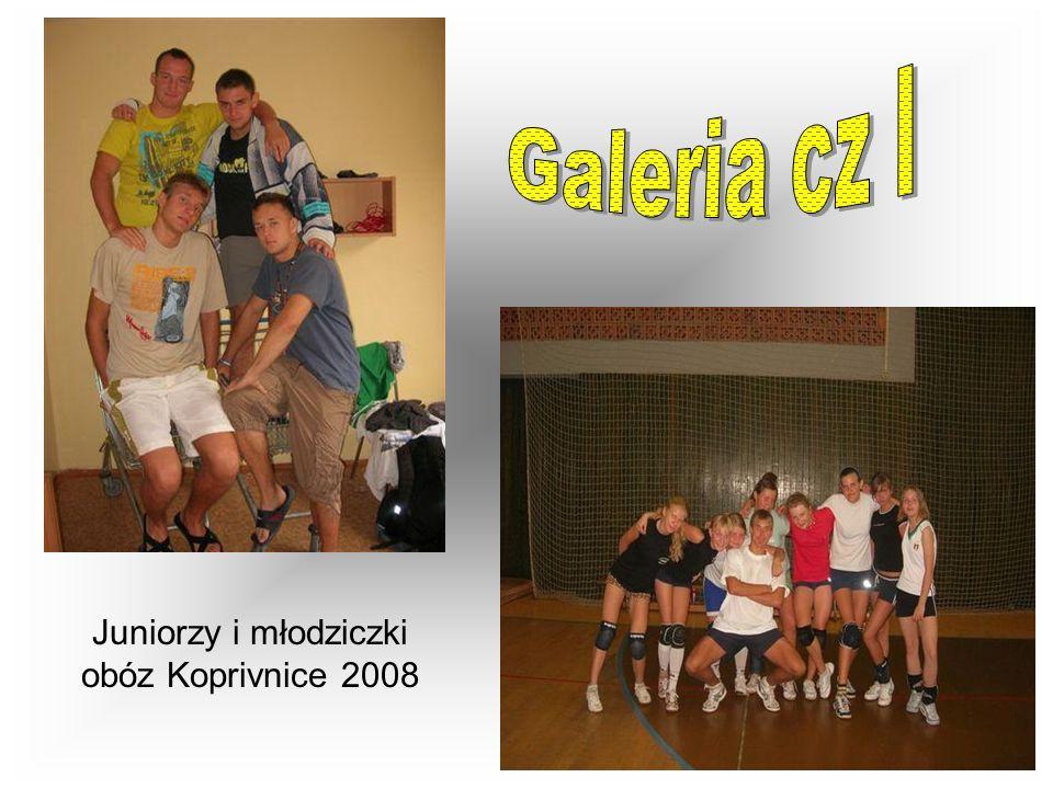 Juniorzy i młodziczki obóz Koprivnice 2008