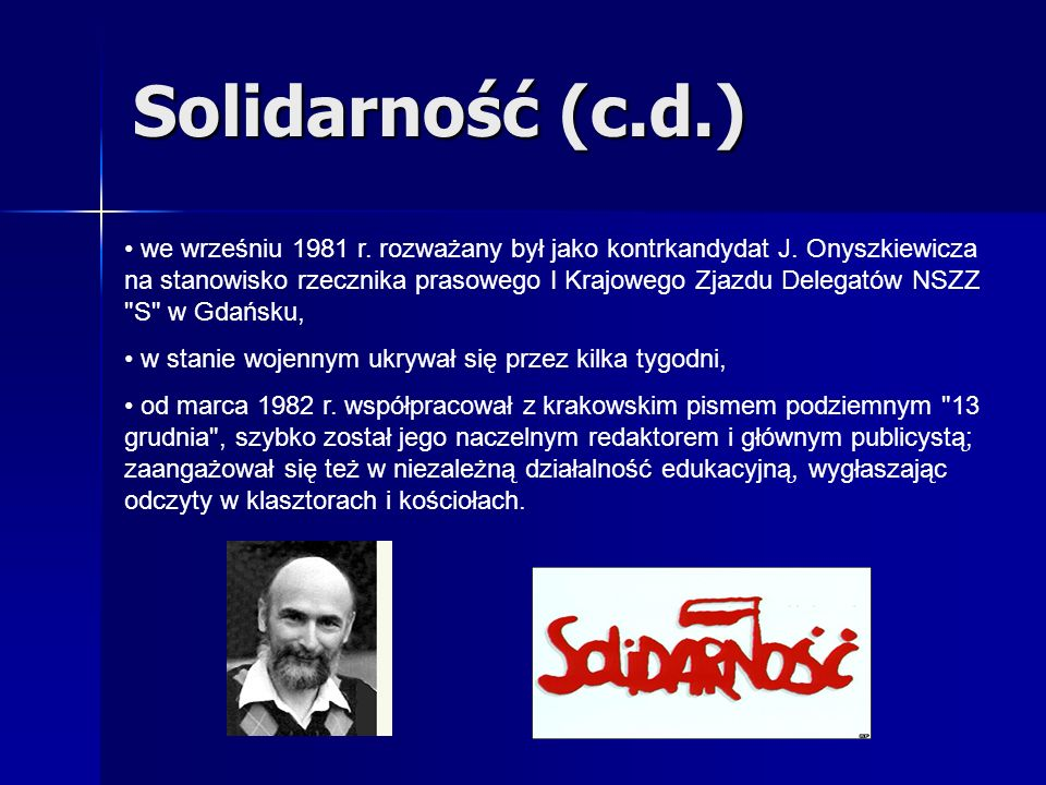 Solidarność (c.d.)