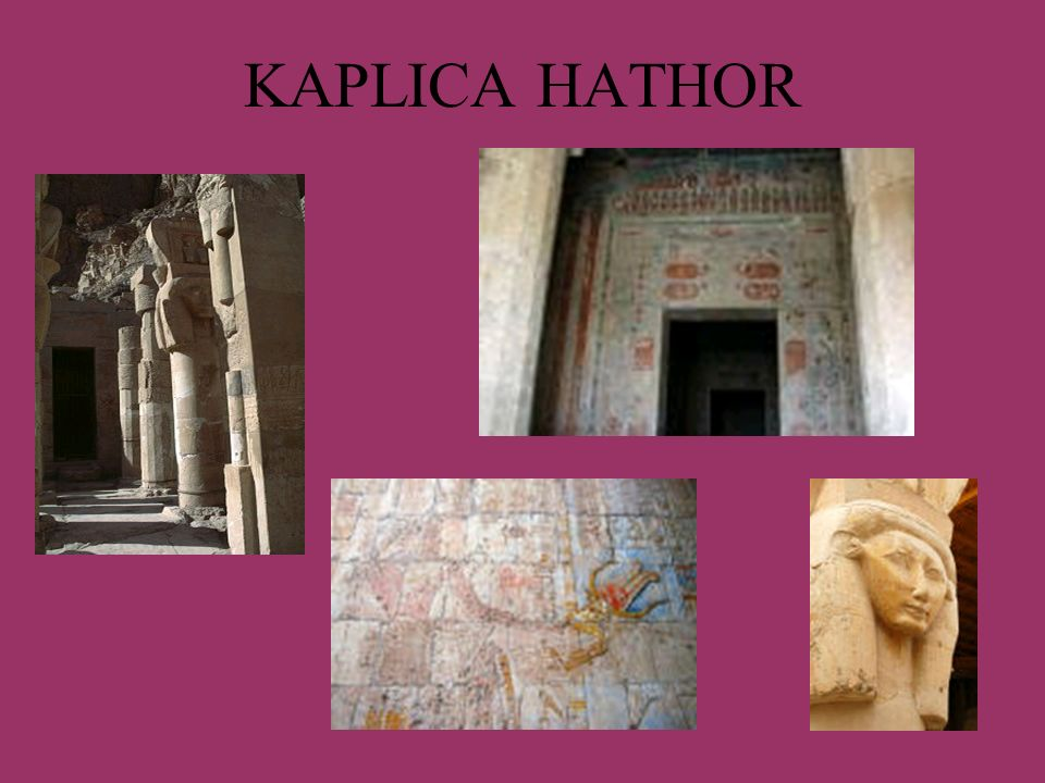 KAPLICA HATHOR