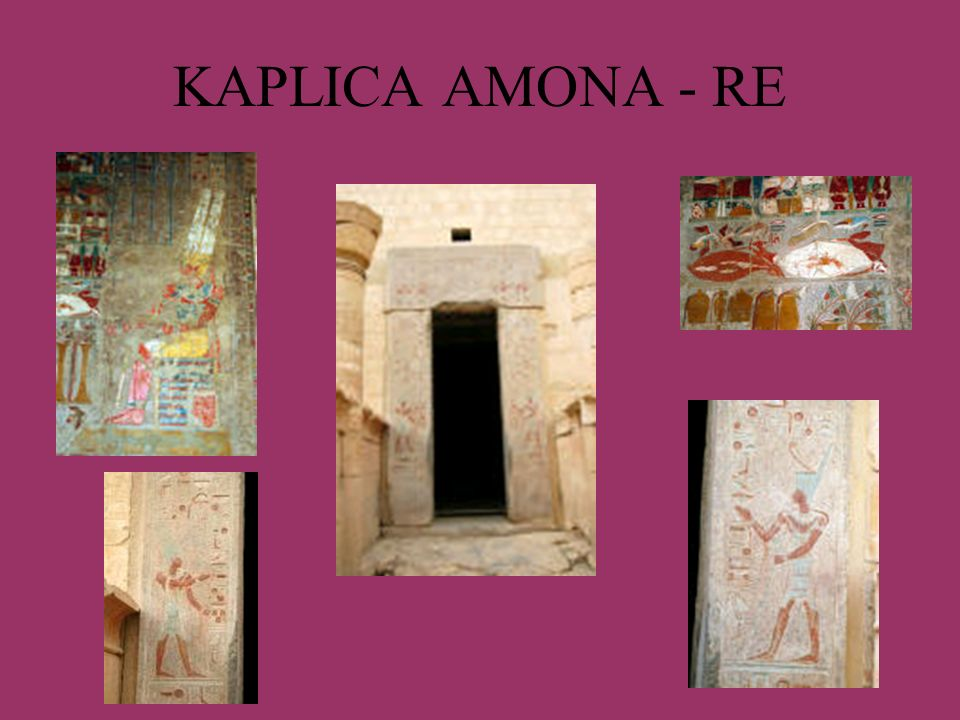 KAPLICA AMONA - RE