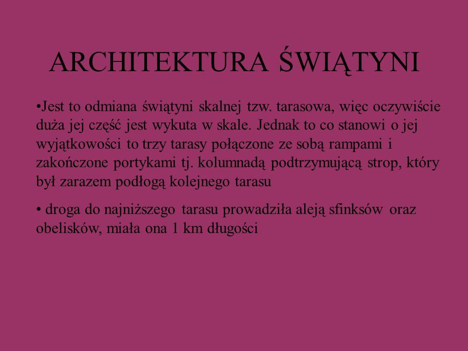 ARCHITEKTURA ŚWIĄTYNI