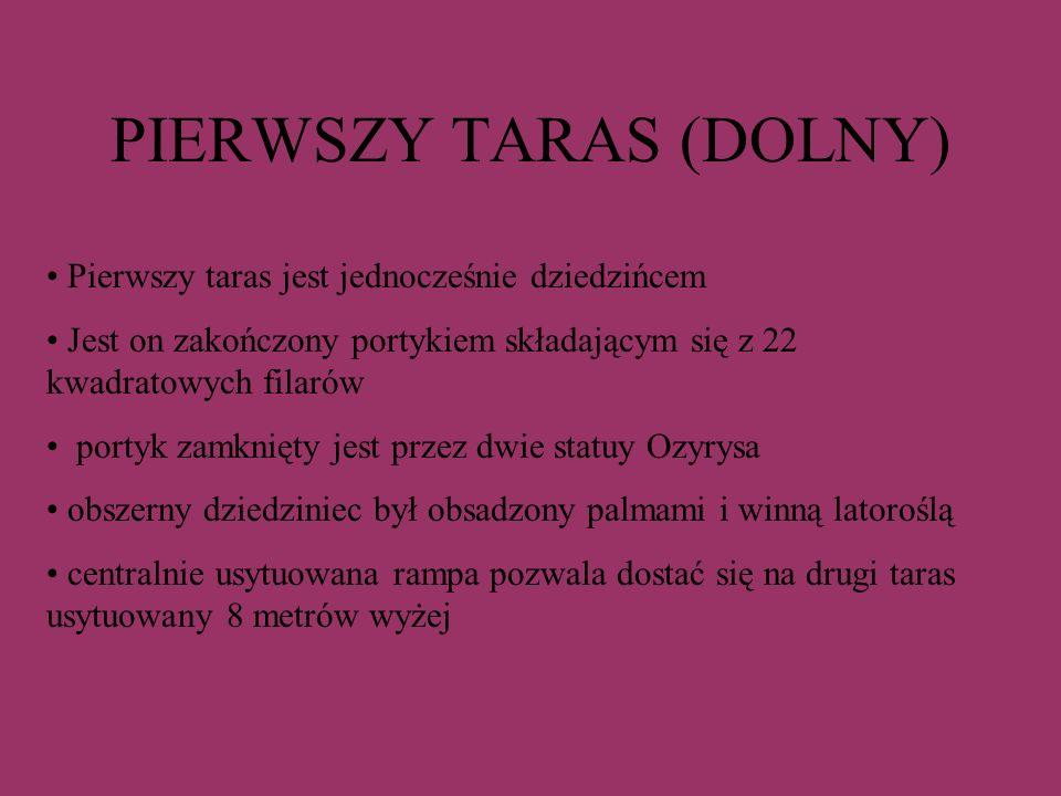 PIERWSZY TARAS (DOLNY)