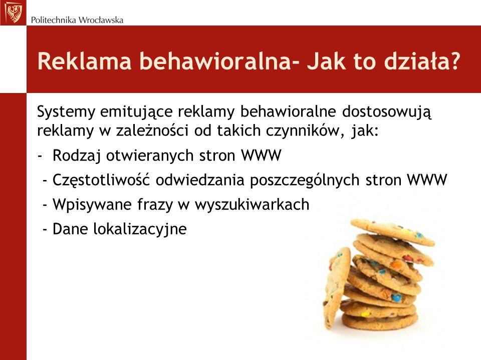 Reklama behawioralna- Jak to działa