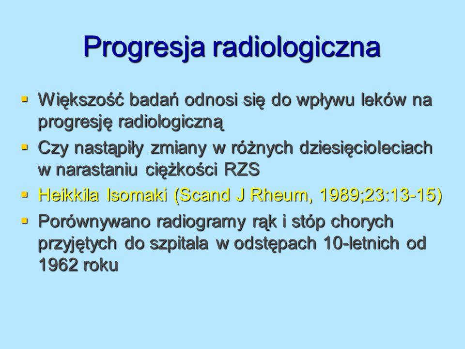 Progresja radiologiczna