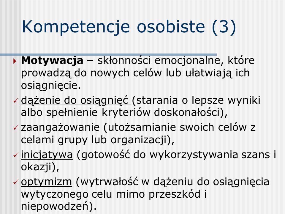 Kompetencje osobiste (3)