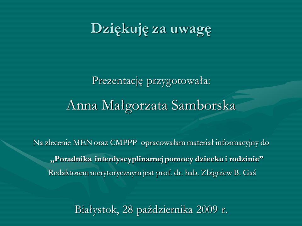 Anna Małgorzata Samborska