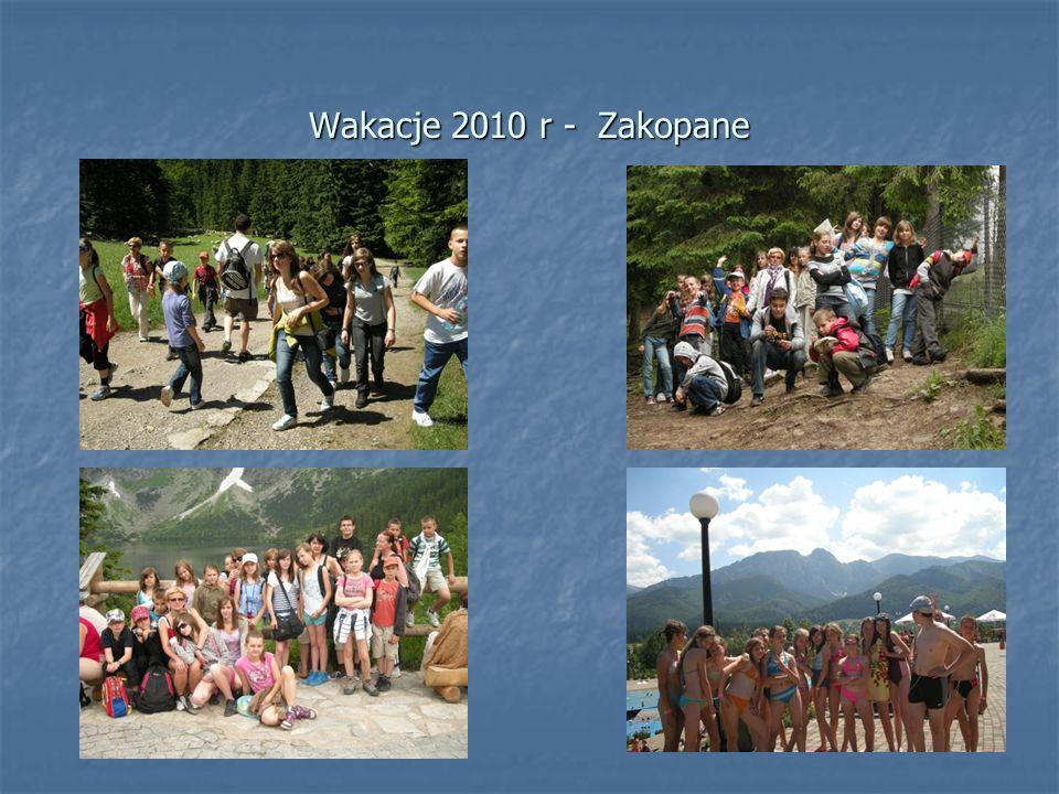 Wakacje 2010 r - Zakopane
