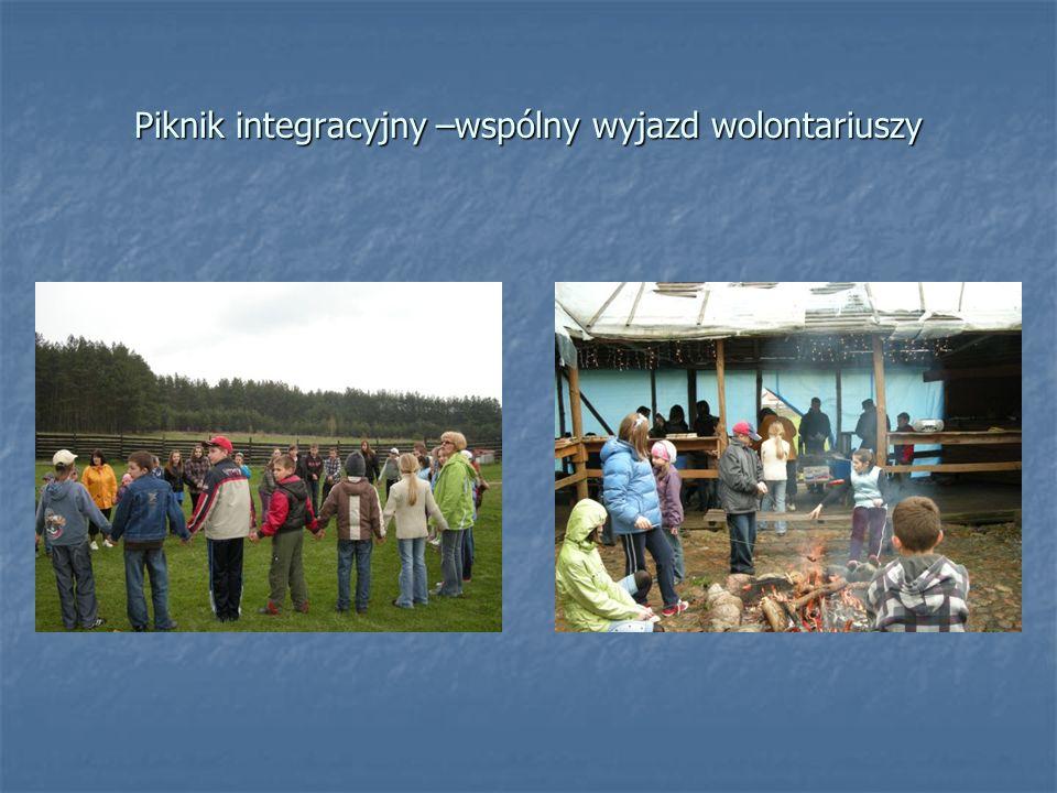 Piknik integracyjny –wspólny wyjazd wolontariuszy