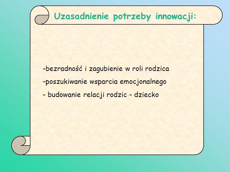 Uzasadnienie potrzeby innowacji: