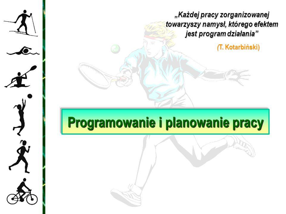 Programowanie i planowanie pracy
