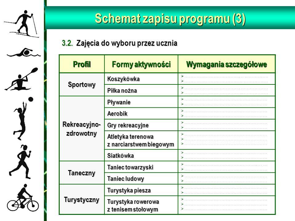 Schemat zapisu programu (3)