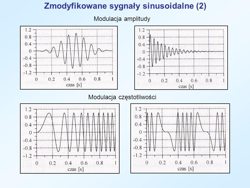 Zmodyfikowane sygnały sinusoidalne (2)