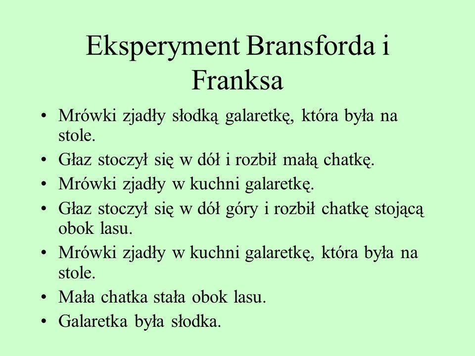 Eksperyment Bransforda i Franksa