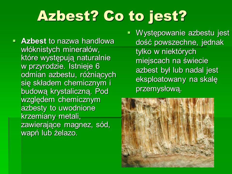 Azbest Co to jest