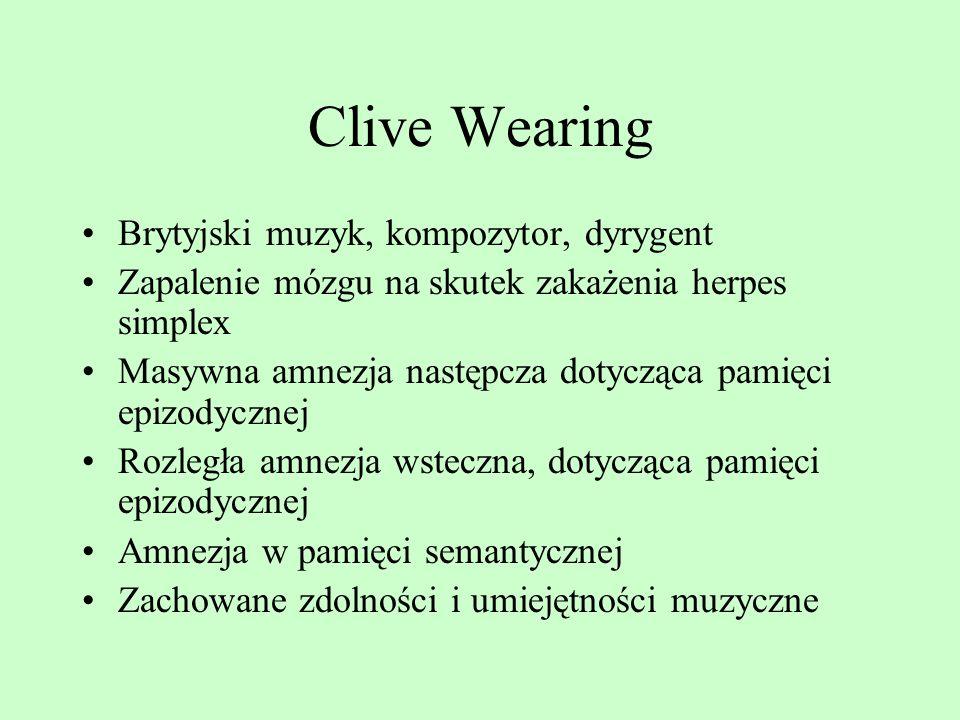 Clive Wearing Brytyjski muzyk, kompozytor, dyrygent