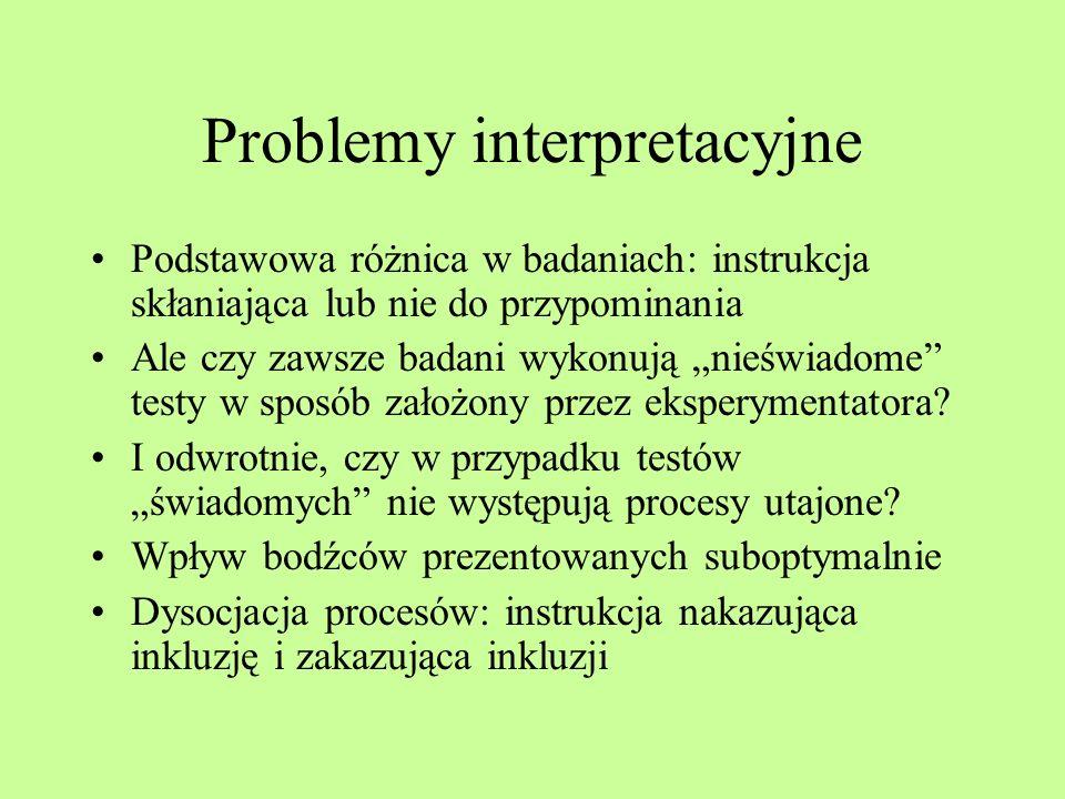 Problemy interpretacyjne