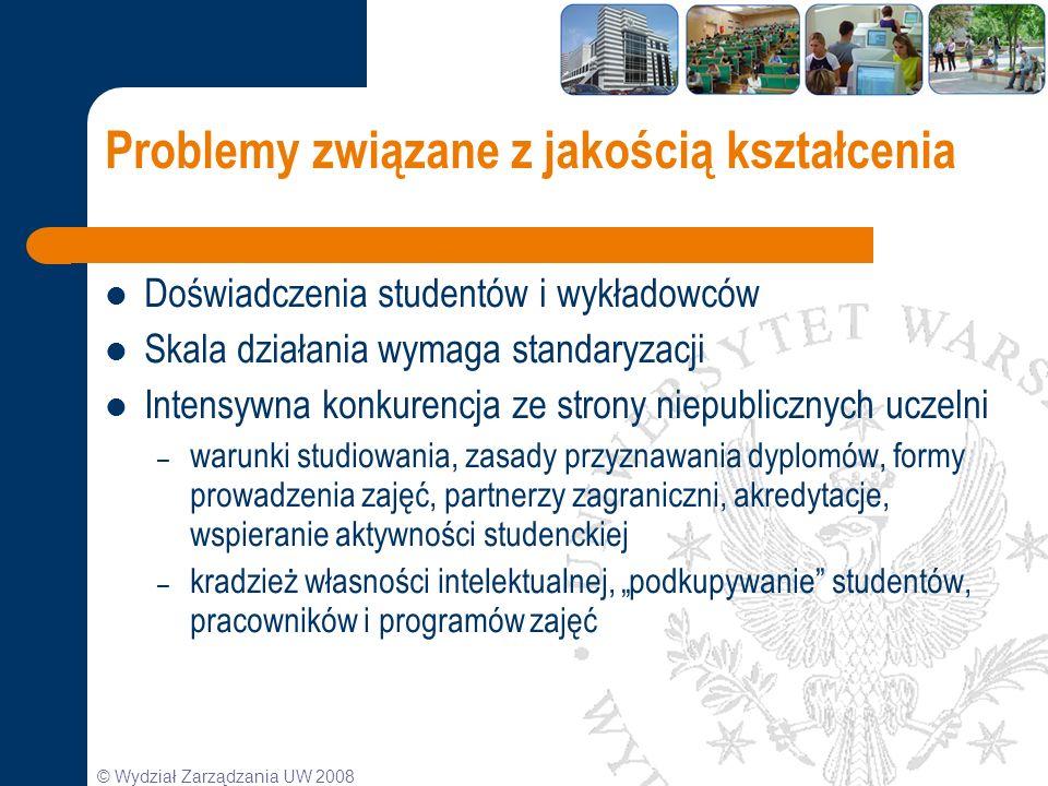 Problemy związane z jakością kształcenia