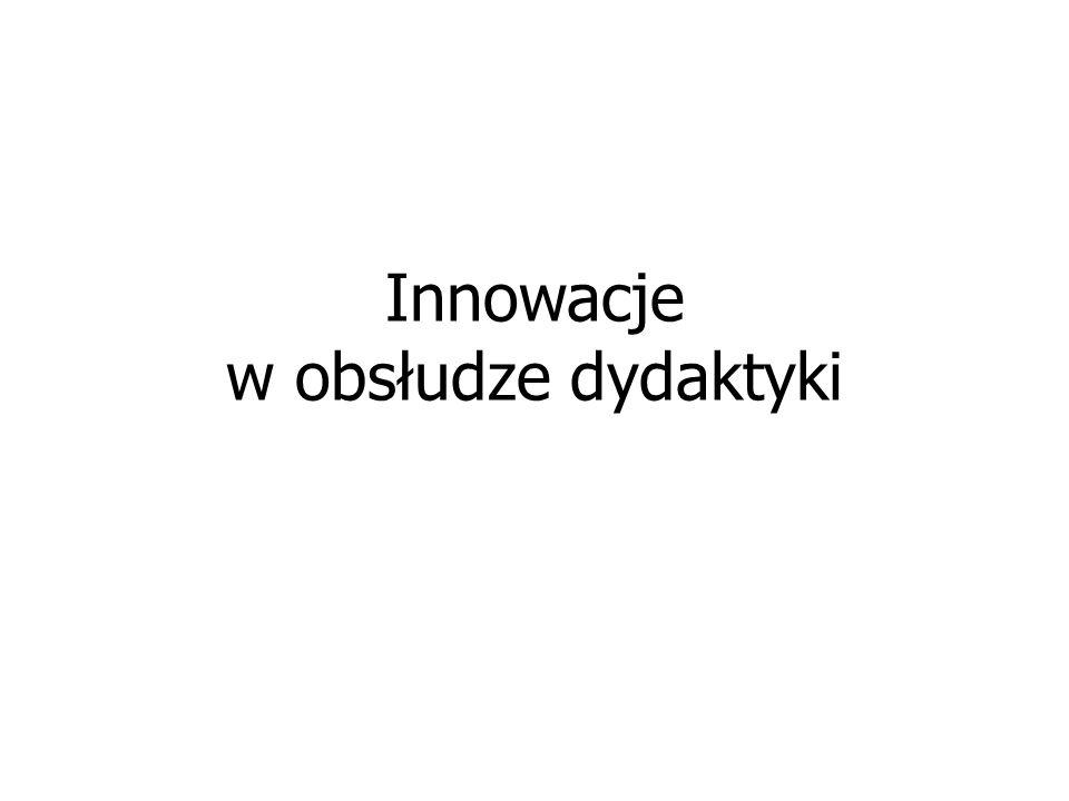 Innowacje w obsłudze dydaktyki