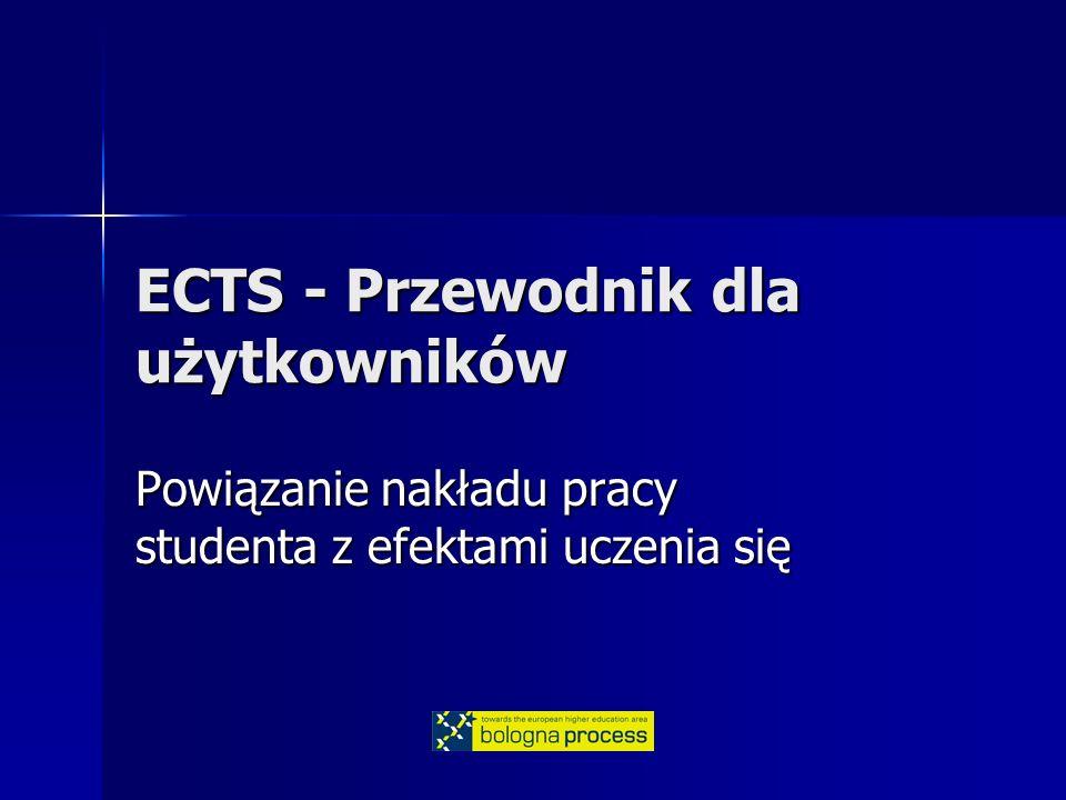 ECTS - Przewodnik dla użytkowników