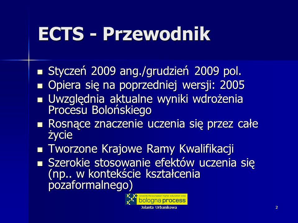 ECTS - Przewodnik Styczeń 2009 ang./grudzień 2009 pol.