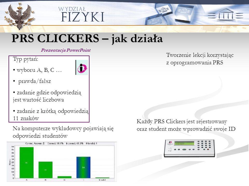 PRS CLICKERS – jak działa
