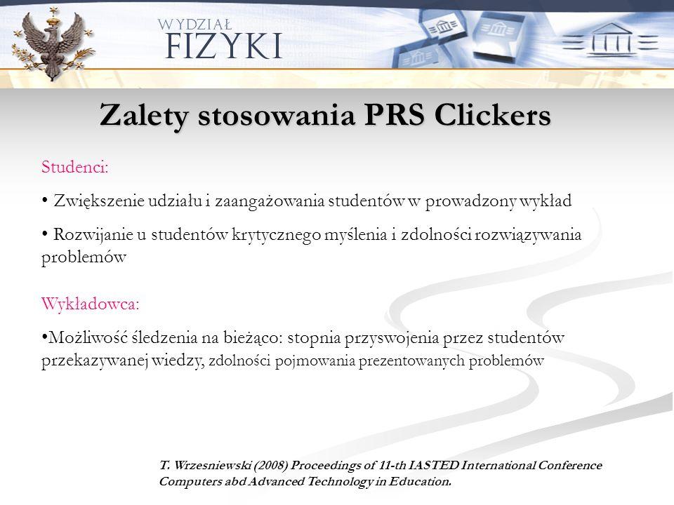 Zalety stosowania PRS Clickers